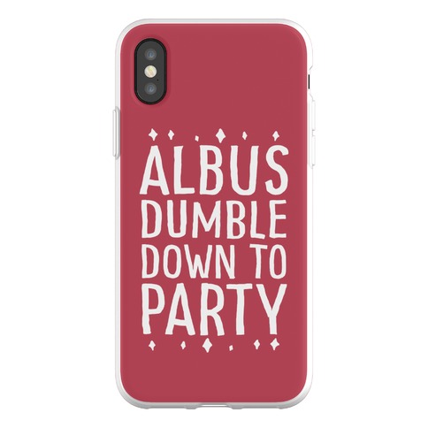 Albus Dumble Down To Party Phone Flexi-Case