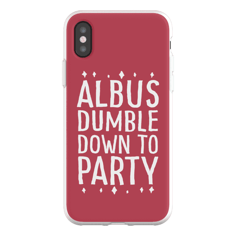 Albus Dumble Down To Party Phone Flexi-Case