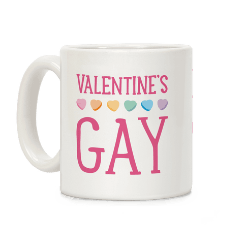 Valentine's Gay Coffee Mug
