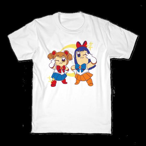 Pretty Sailor Pop Team Epic Kids T-Shirt
