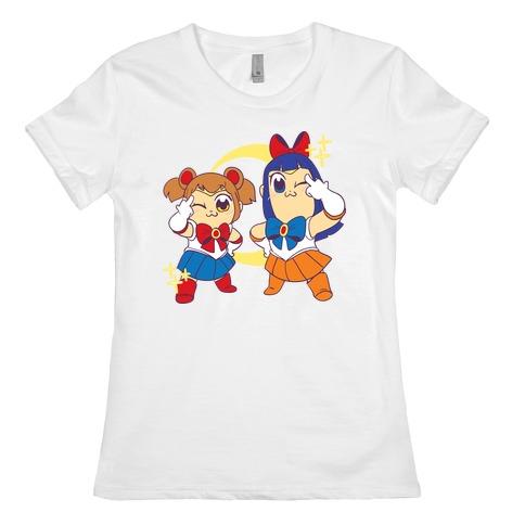 Pretty Sailor Pop Team Epic Womens T-Shirt