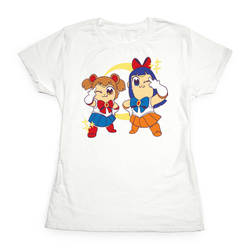 Pretty Sailor Pop Team Epic Womens T-Shirt