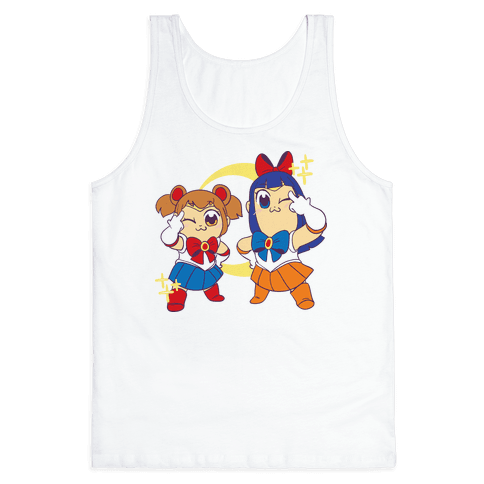 Pretty Sailor Pop Team Epic Tank Top