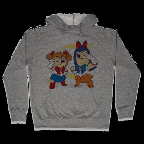 Pretty Sailor Pop Team Epic Hooded Sweatshirt