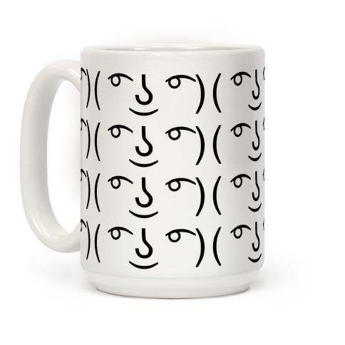 Lenny Face Coffee Mug