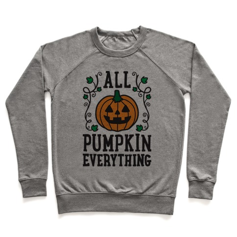 All Pumpkin Everything Pullover