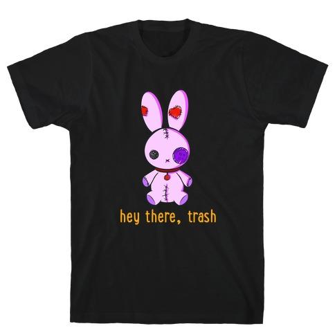 Creepy Cute Rag Bunny  T-Shirt
