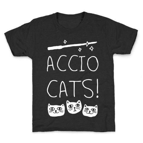Accio Cats Kids T-Shirt