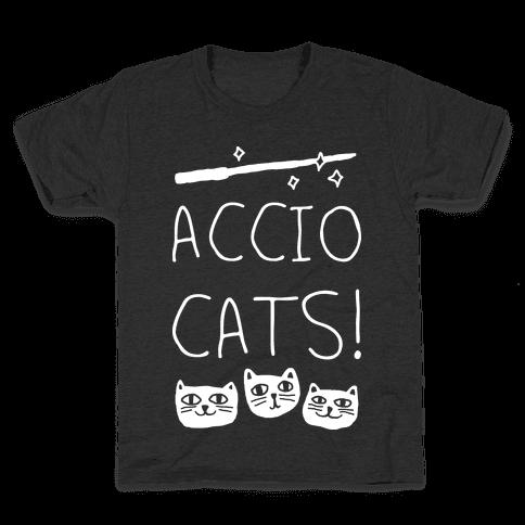 Accio Cats Kids T-Shirt