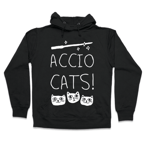 Accio Cats Hooded Sweatshirt