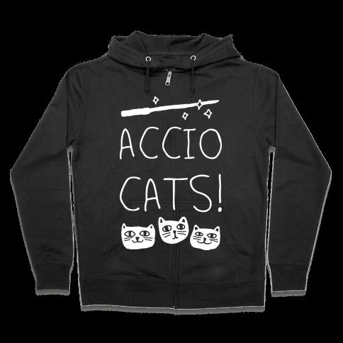 Accio Cats Zip Hoodie