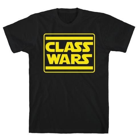Class Wars Star Parody T-Shirt