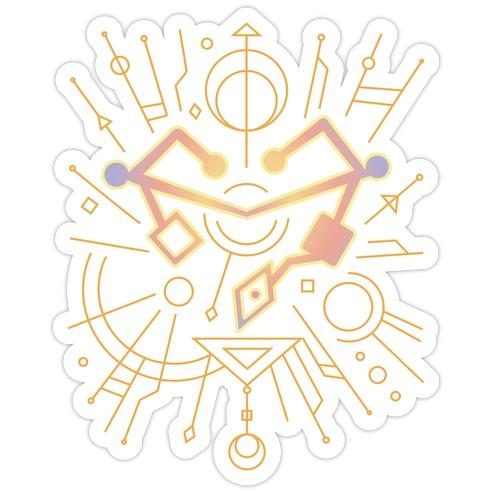 Heart of Etheria Fail Safe Emblem  Die Cut Sticker