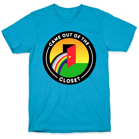 Came Out of The Closet Patch T-Shirt
