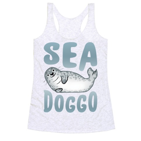 Sea Doggo Racerback Tank Top
