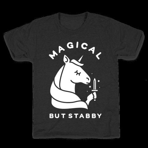 Magical But Stabby Kids T-Shirt