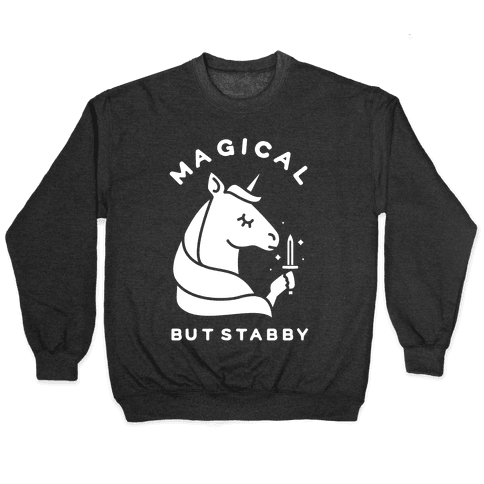 Magical But Stabby Pullover