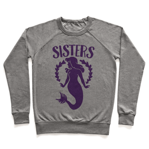Mermaid Sisters (Purple) Pullover