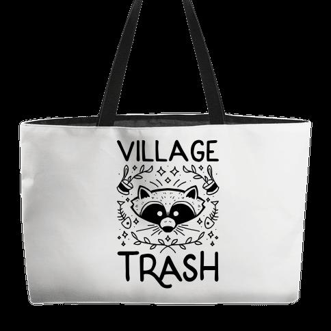 Village Trash Weekender Tote