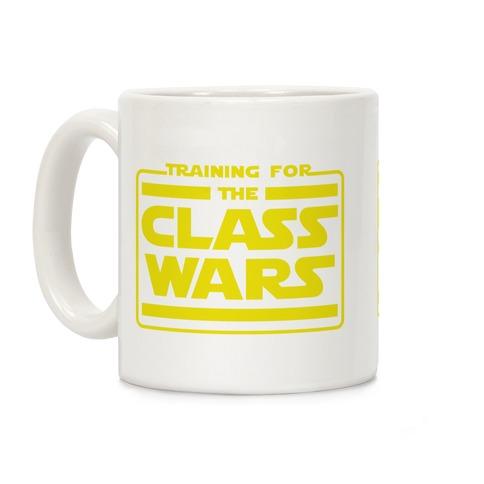 Training for the Class Wars Parody Coffee Mug
