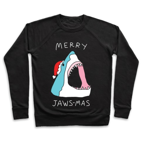 Merry Jaws-mas Christmas Pullover