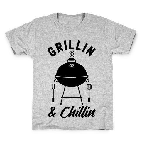 Grillin & Chillin Kids T-Shirt