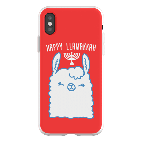 Happy Llamakkah Phone Flexi-Case