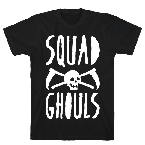 Squad Ghouls (White) Mens T-Shirt