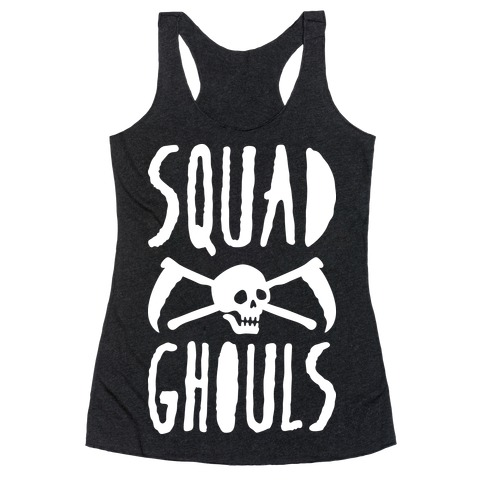 Squad Ghouls (White) Racerback Tank Top