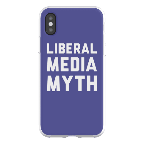 Liberal Media Myth Phone Flexi-Case