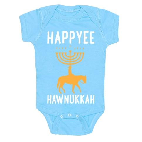 Happyee Hawunkkah Baby Onesy