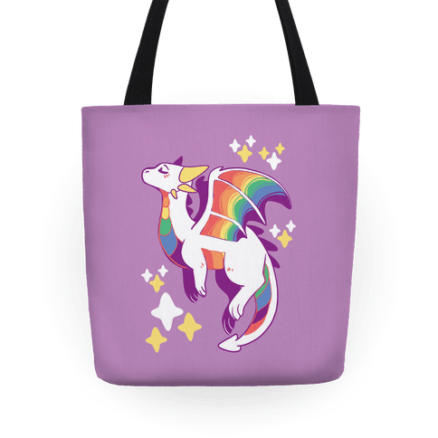 Gay Pride Dragon Tote