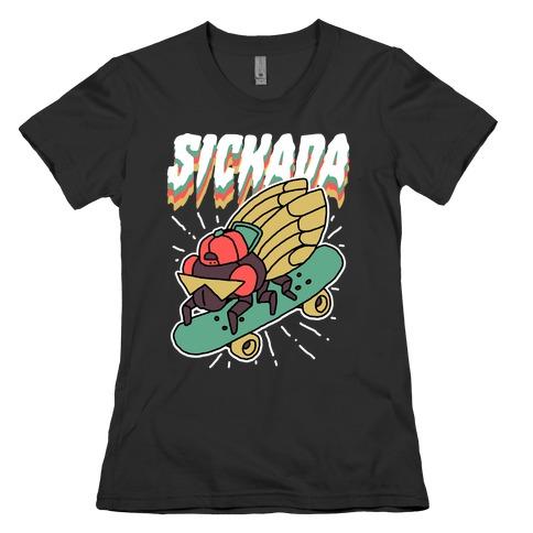 SICKada Cicada Womens T-Shirt