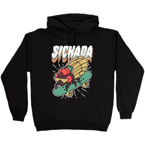 SICKada Cicada Hooded Sweatshirt