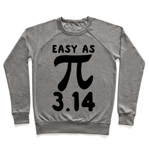 Easy as 3.14 - Pi Pullover