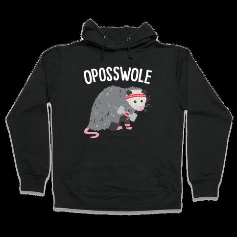 Oposswole Opossum Hooded Sweatshirt
