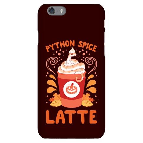 Python Spice Latte Phone Case