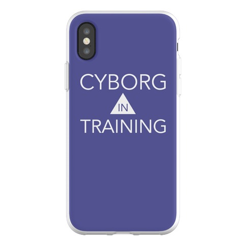 Cyborg In Training Phone Flexi-Case