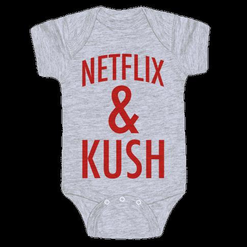 Netflix & Kush Baby Onesy