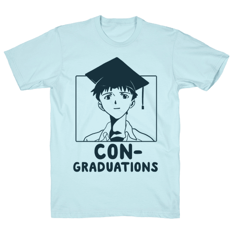 Con-Graduations, Shinji-Kun Mens T-Shirt
