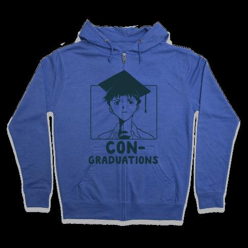 Con-Graduations, Shinji-Kun Zip Hoodie