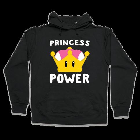 Princess Power Hooded Sweatshirt