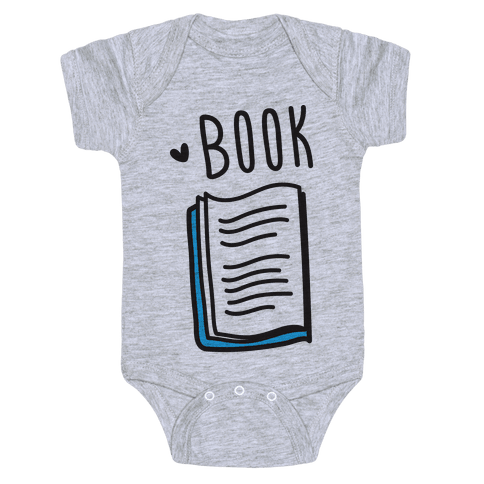 Book Buds 1 Baby Onesy