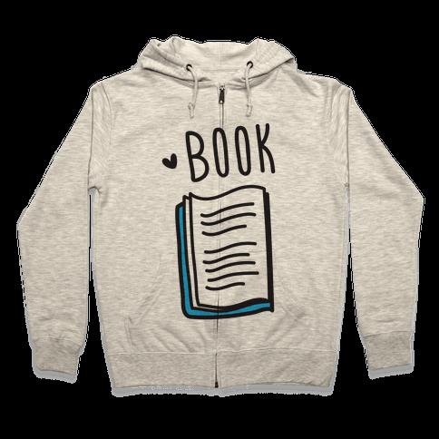 Book Buds 1 Zip Hoodie
