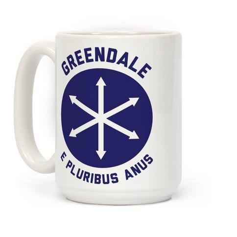 Greendale E Pluribus Anus Coffee Mug