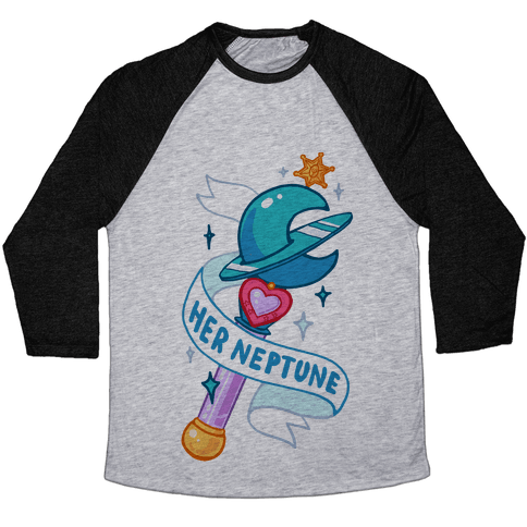 Her Neptune Pair 1 Baseball Tee