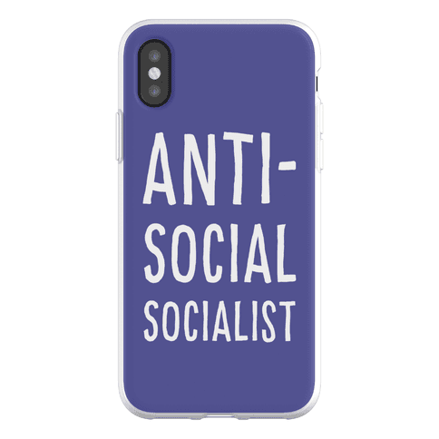 Anti-Social Socialist Phone Flexi-Case