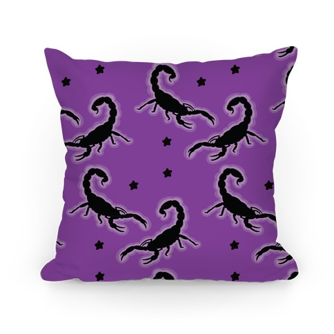 Scorpion Pattern Pillow