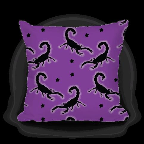 Scorpion Pattern Pillow