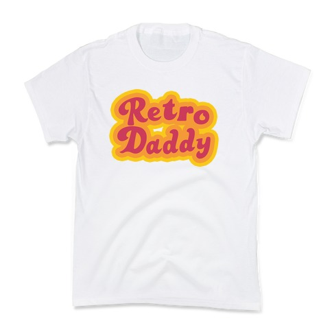 Retro Daddy Kids T-Shirt